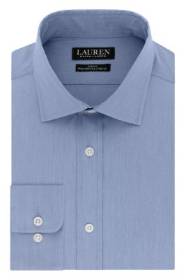 Image for Ralph Lauren Slim Fit Wrinkle Free Stretch Solid from PVH Direct