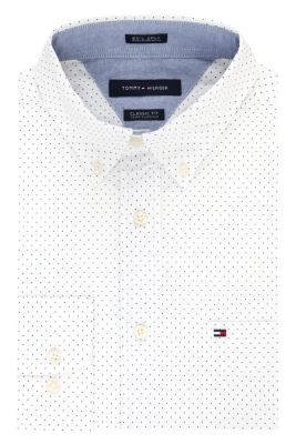 Image for Tommy Hilfiger Men's Polka Dot Dress Shirt from PVH Corporate Outfitters