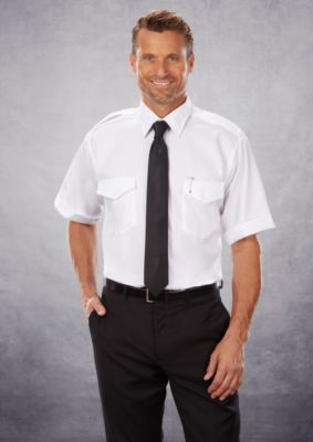 Image for Van Heusen Short Sleeve Stretch Aviator from PVH Corporate Outfitters