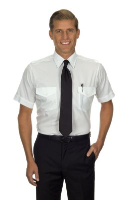 Image for Van Heusen Men's Tall Fit Short Sleeve Aviator from PVH Corporate Outfitters