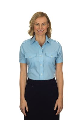Image for Van Heusen Woman's Short Sleeve Aviator from PVH Corporate Outfitters