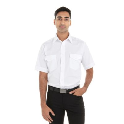 Image for Van Heusen Men's Short Sleeve Aviator from PVH Corporate Outfitters