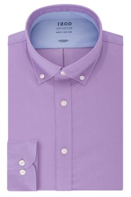 Image for IZOD Slim Fit All-Over Stretch Twill Solid from PVH Direct