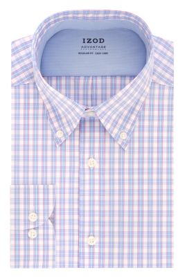 Image for IZOD Regular Fit All-Over Stretch Twill Plaid from PVH Direct